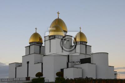 Domes der Kirche der Geburt der Allerheiligsten Jungfrau Maria