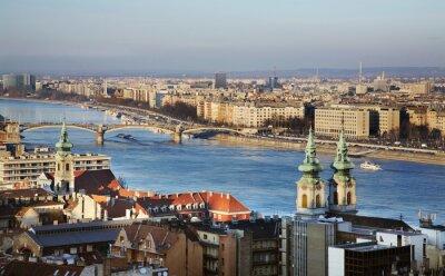 Bild Donau in Budapest. Ungarn