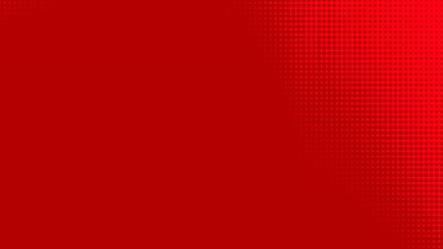 Bild Dots halftone red color pattern gradient texture with technology digital background. Dots pop art comics with summer background.