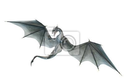 Bild dragon looking down