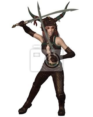 Dragon Warrior Girl - Kampf
