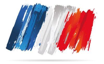 Bild drapeau français, de la France