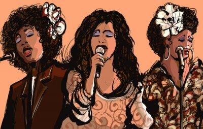 Bild Drei Frauen Jazz Sänger