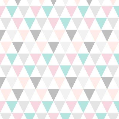 Dreieck Muster Abstrakt Pastell Leinwandbilder Bilder