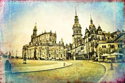 Bild Dresden Weinleseabbildung
