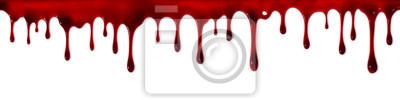 Bild Dripping Blutfahne