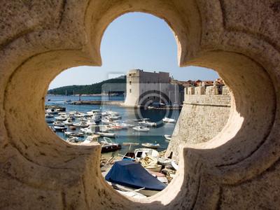 Dubrovnik, alte Festung und die alte Stadt
