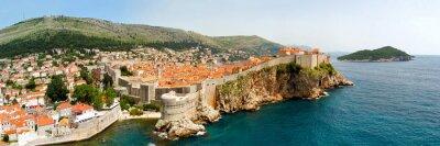 Bild Dubrovnik walls panorama