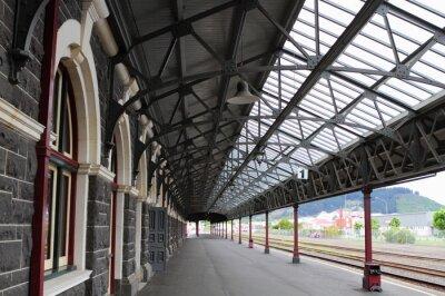 Bild Dunedin Bahnhof entfernt