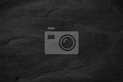 Bild Dunkelgrauer schwarzer Schieferhintergrund oder -beschaffenheit.