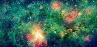 Bild Dunkle Wolke M17 Swex und M17-Nebels. Retuschiert und gereinigt Version des ursprünglichen Bildes von der NASA