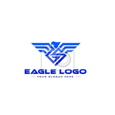Bild Eagle symbol, emblem.