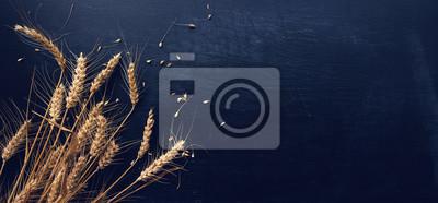 Bild Ears of wheat and grains