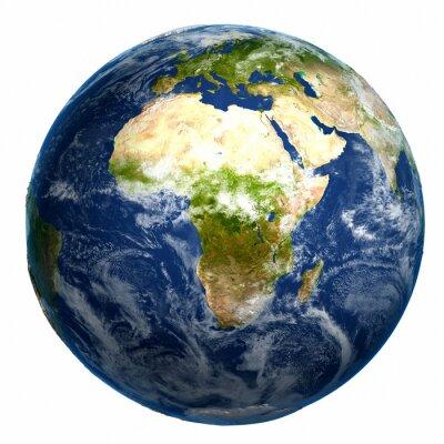 Bild Earth globe map