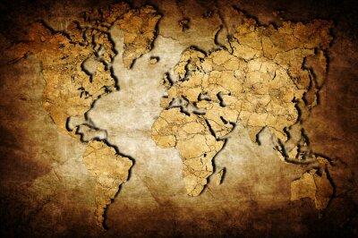 Bild Earth map