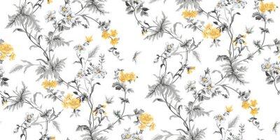 Echo Floral Nahtlose Muster