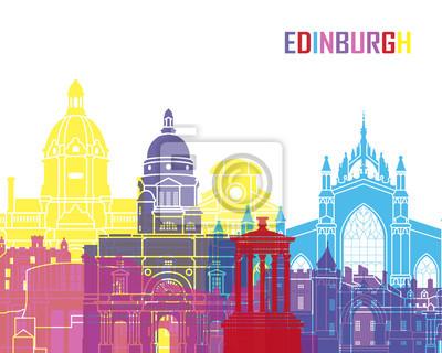 Bild Edinburgh Skyline Pop