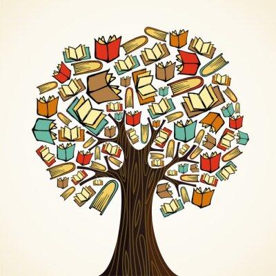 Bild Education-Konzept mit Bücher Baum