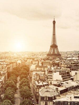 Bild Eiffel aus dem Arch of Triumph