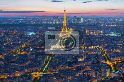 Bild Eiffelturm in Paris, Frankreich