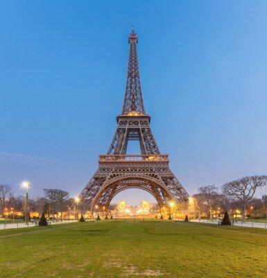 Bild Eiffelturm Sonnenaufgang
