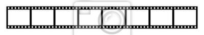 Bild Eight empty frames of 35 mm film strip