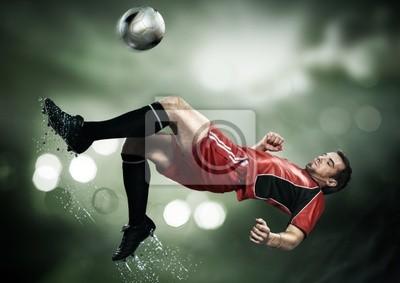 ein Fußballer