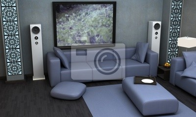 Hervorragend Bild Ein Interieur Visualisierung Einer Asiatischen Themed Wohnzimmer.