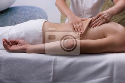 ein Mann ist immer Spa-Behandlung, Massage
