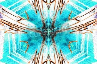 Bild Ein Stern Abstraktion symmetrisch