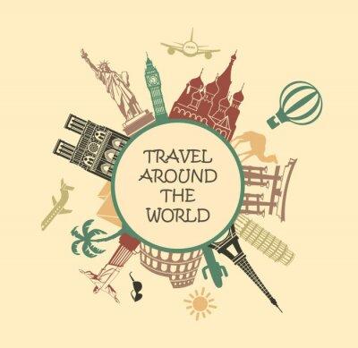 Ein Symbol reist um die Welt