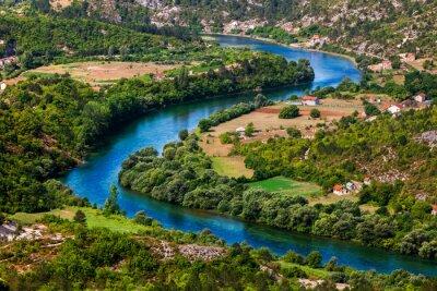 Bild Eine Biegung des Flusses