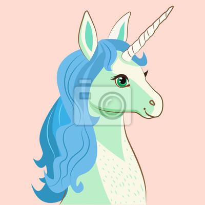 Einhorn Gesicht Einhorn Wahl Von Champions Unicorn Gesicht