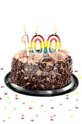 Einhundert Geburtstag oder Jubiläum