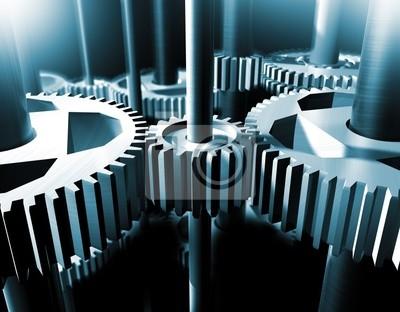 Einzelheiten des Mechanismus Getriebe