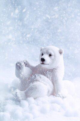 Bild Eisbär-Abbildung