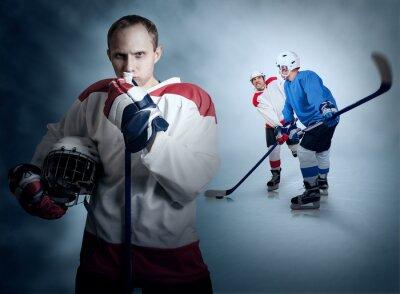 Bild Eishockey-Spiel vor