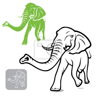 Elephant - Vektor-Illustration