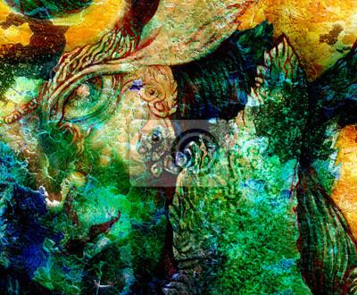 Elfen Fee Kreaturen und Energie Beleuchtung, einen Einblick in eine Fee