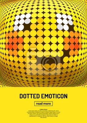 Bild Emotionale Gesicht-Symbol.