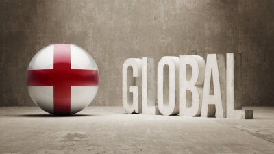 England. Globales Konzept.