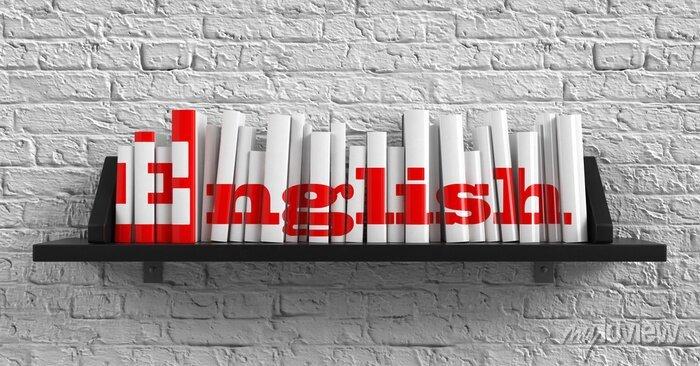 Bild Englisch. Education-Konzept.
