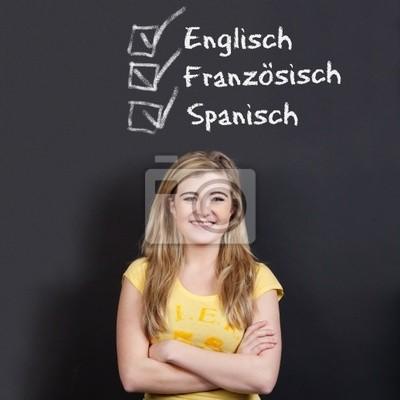 englisch, französisch, spanisch