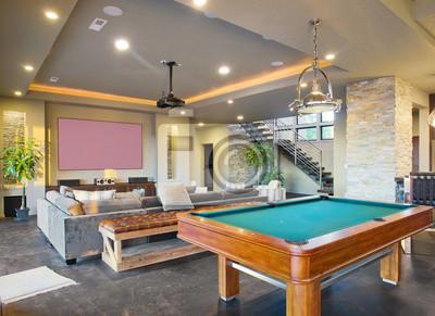 Bild Entertainment Zimmer in Modern Home