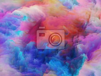 Entfaltung der Farben