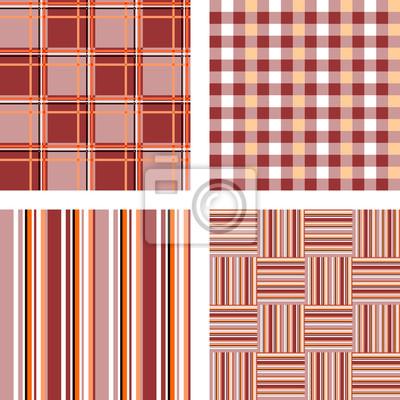 Entwerfen Sie nahtlose Muster Set