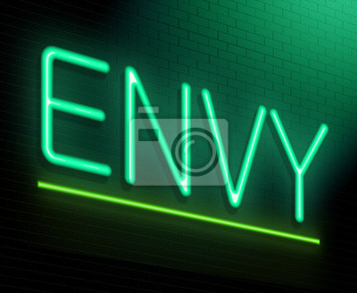 Bild Envy Konzept.