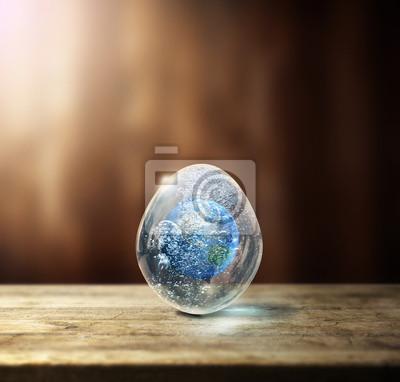 Erde im Ei