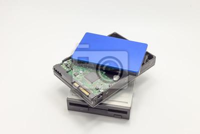 Erzeugung von IT-Speicher, Diskette, Festplatte, externe Festplatte