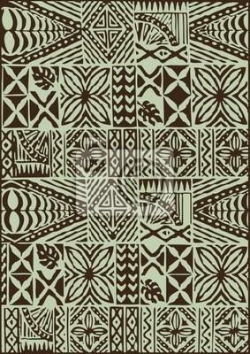 Ethnische Muster Seamless Batik Stoff